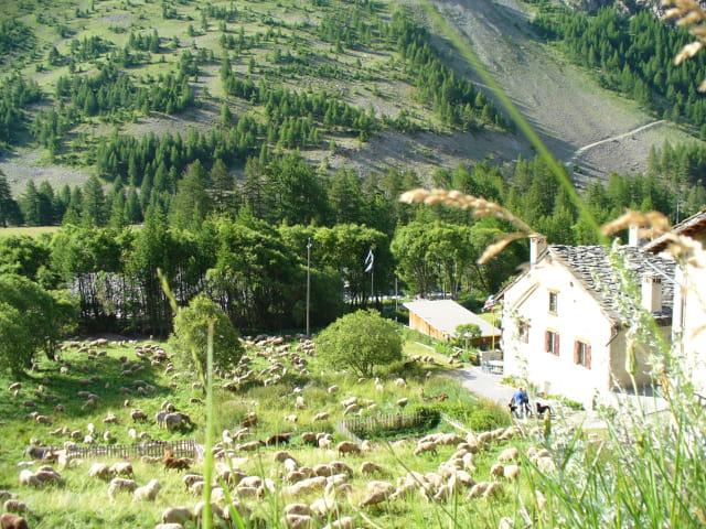 Un petit hameau  en ubaye