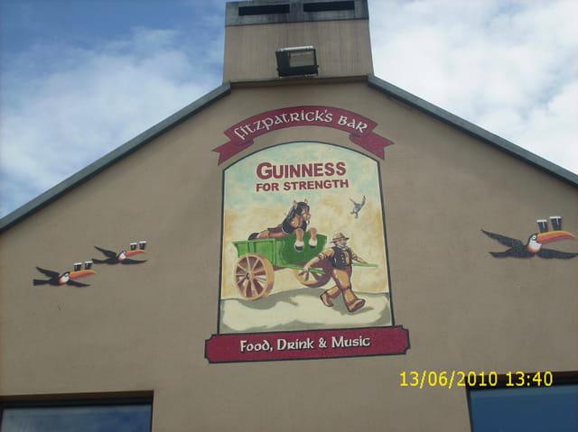 Un pub irlandais