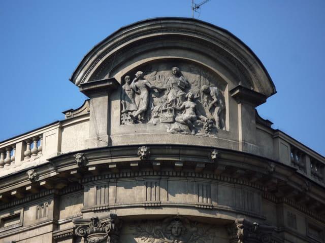 Un relief architectural