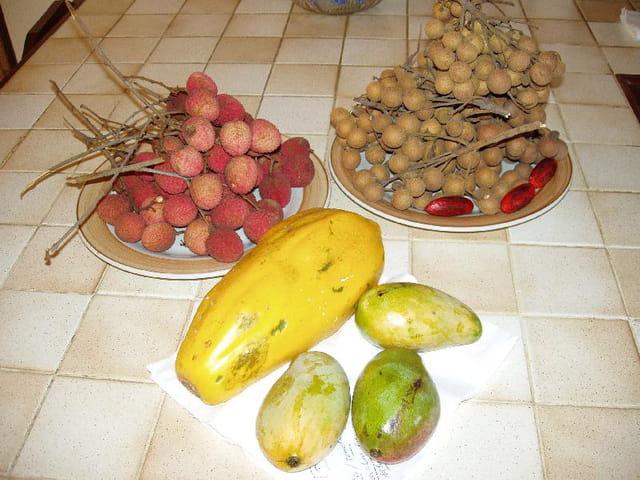 Un repas de fruits