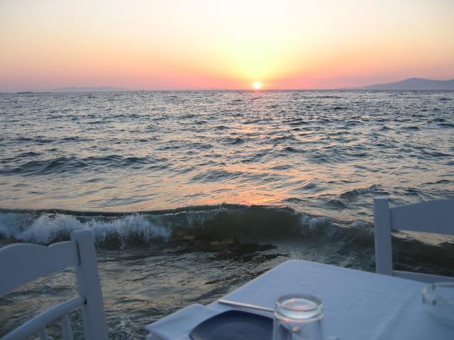 Un soir à Mykonos