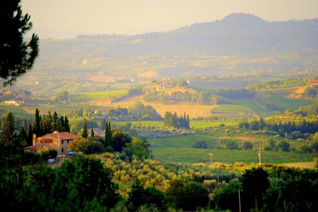 Un soir en Toscane ...