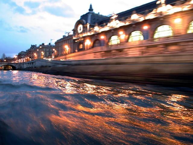 Un soir sur la seine