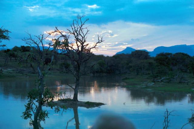 Un soir sur le drakensberg