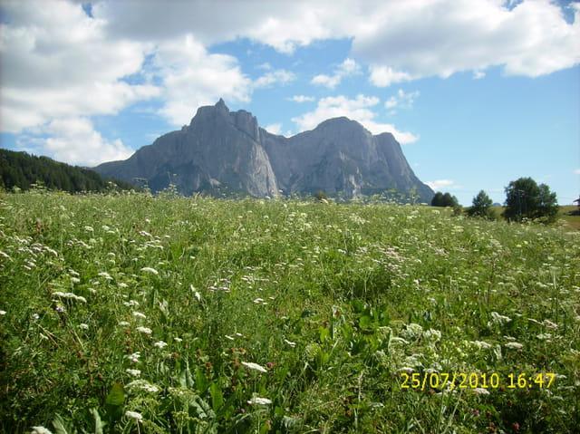 Un sommet des Dolomites
