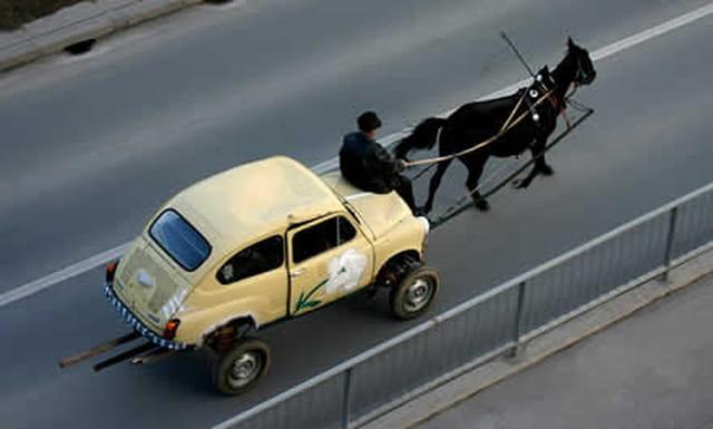 Un taxi en croatie