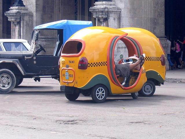 Un taxi insolite