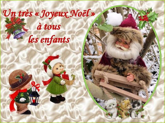 Un très Joyeux Noël à tous les enfants