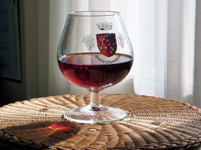 Un verre de bon vin