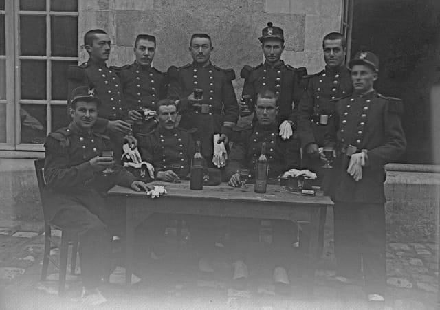 Un verre pour le régiment