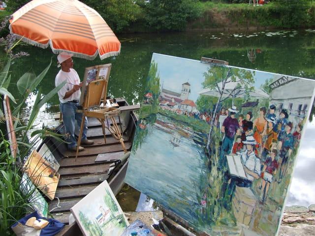 Une barque pour un peintre