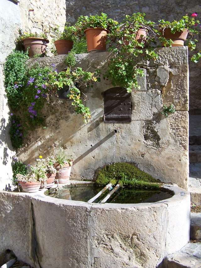 Une belle fontaine
