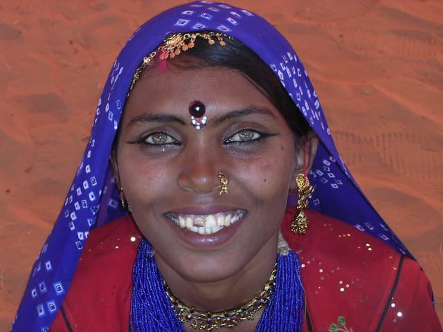 Une belle indienne