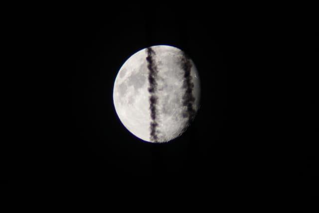 Une bonne tranche de lune.
