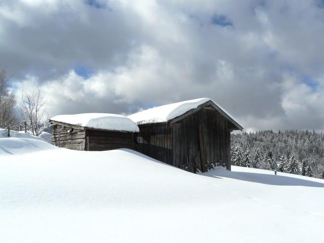 Une cabane en montagne