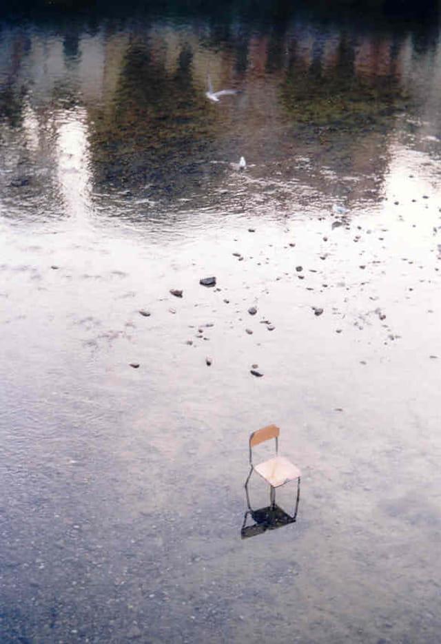 Une chaise en Italie