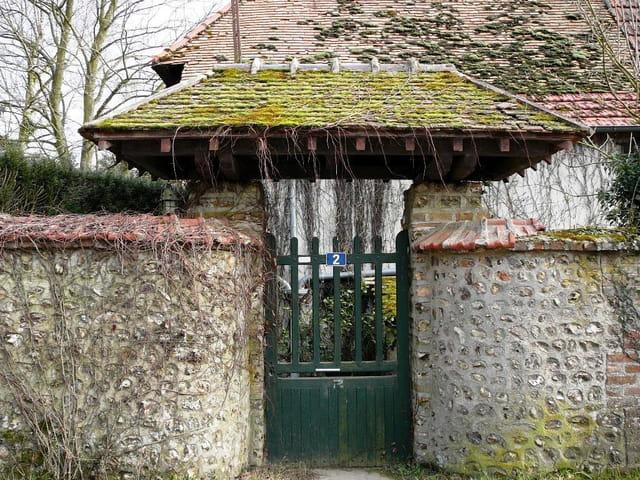 Une clôture à l'ancienne
