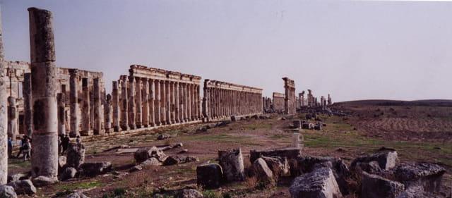 Une des métropoles de la Syrie classique