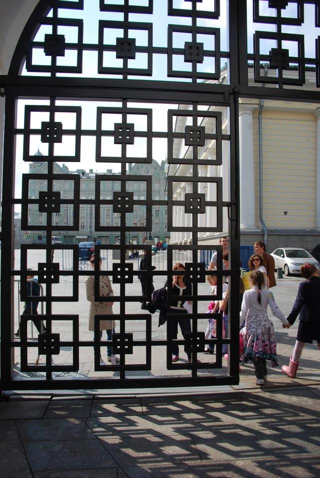 une des portes d'entrée du Kremlin