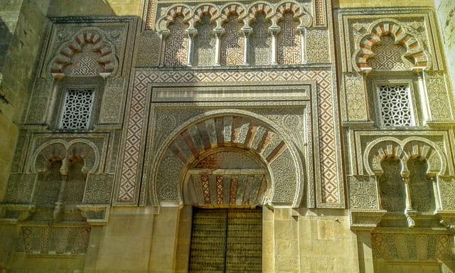 Une des portes de la mosquée de Cordoue