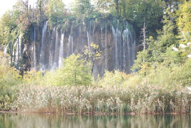 une des quatre vingt douze cascades du Parc de Plitvice Jezera