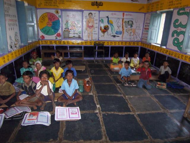 une école indienne