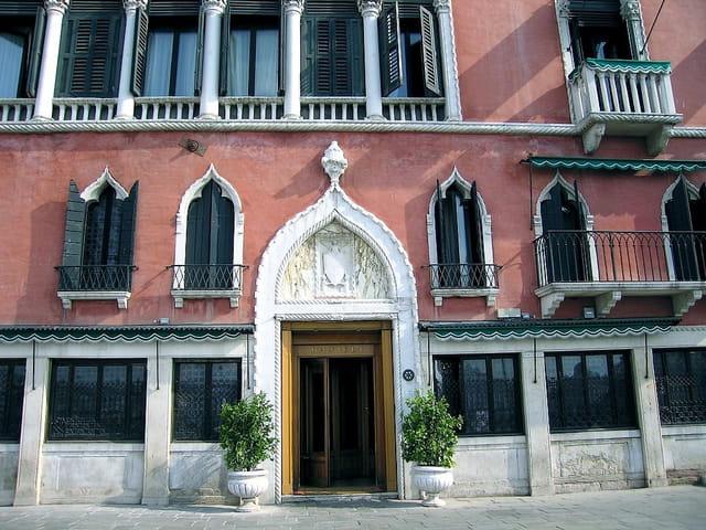 Une façade de Venise