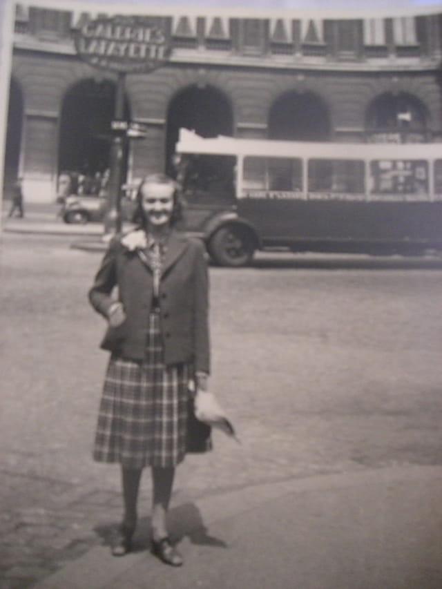 Une femme en 1936