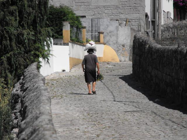 Une femme portugaise