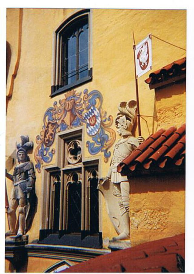 Une fenêtre du Château
