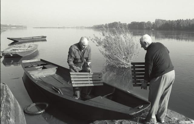 une histoire de barques pour Gilles