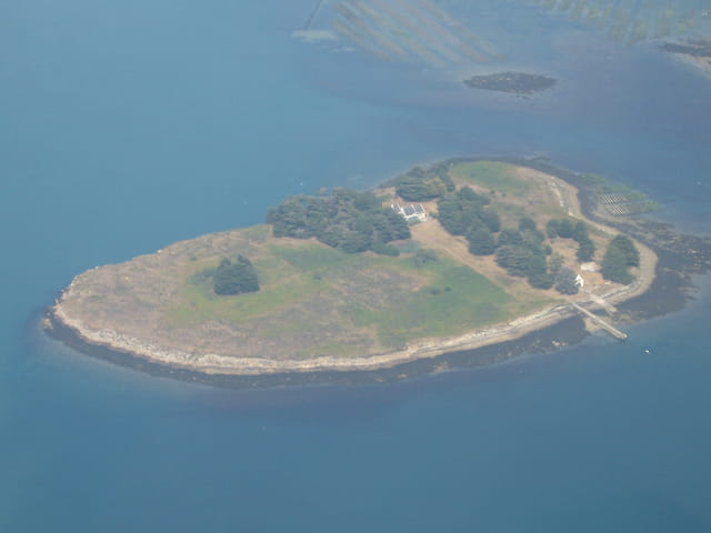 Une île du golfe du morbihan