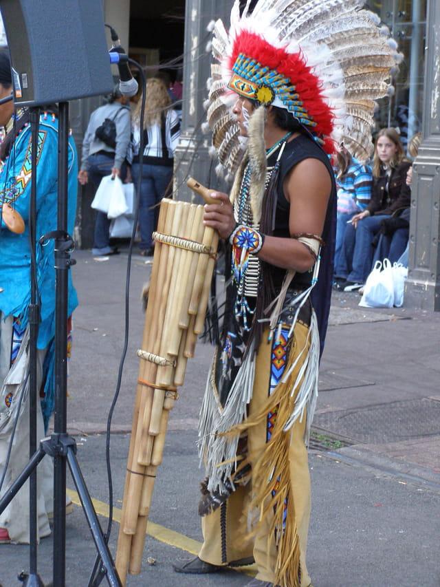 Un autre indien dans la ville