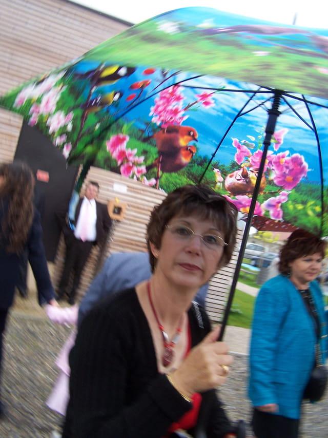 Une jolie ombrelle!!