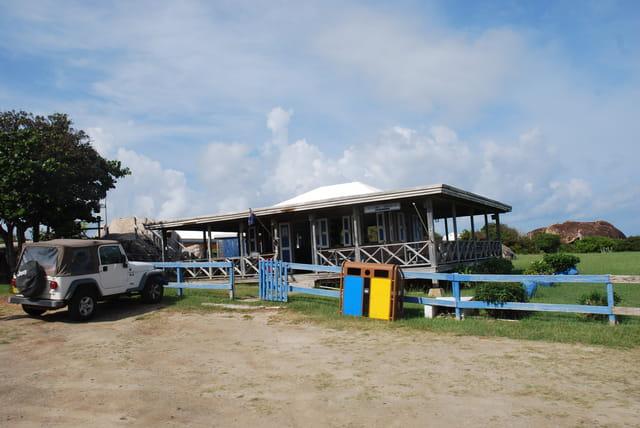 une maison de l'île Virgin Gorda