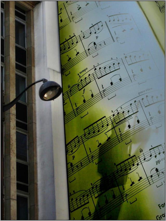 ..une note de musique