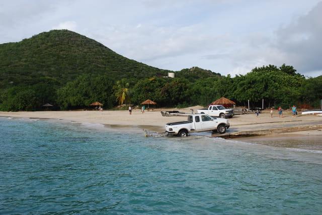 une plage de l'île Virgin Gorda