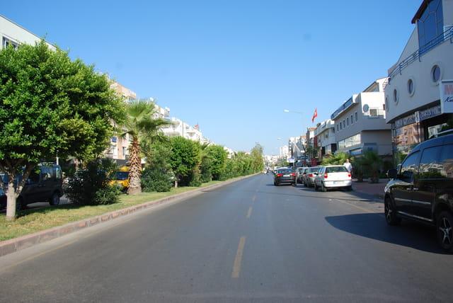 Une rue à Antalya