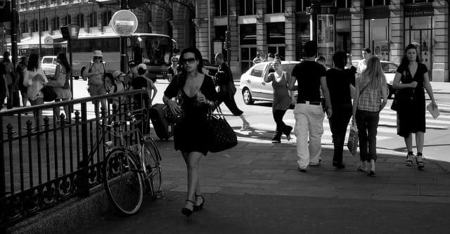 Une rue a Parigi