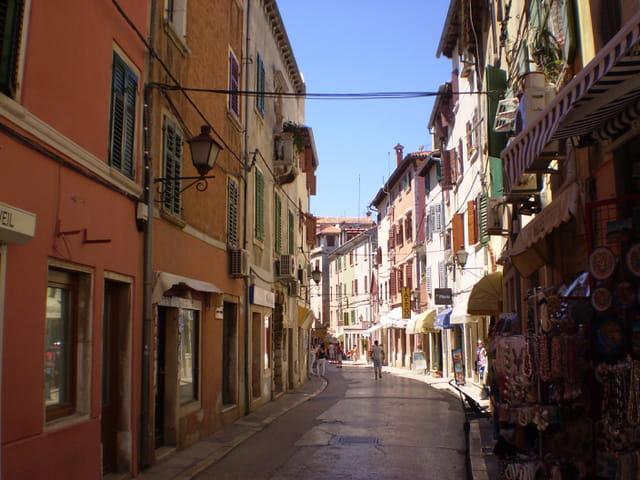 Une rue de Rovinj