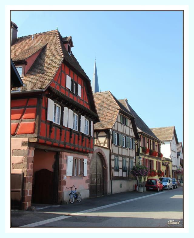Une rue de Scherwiller