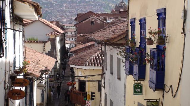 Une ruelle à Cuzco