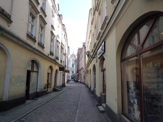 Une ruelle à Kalisz