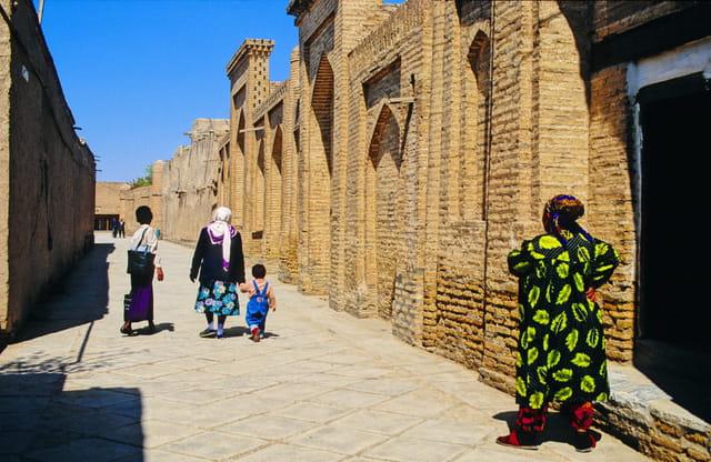 Une ruelle de Khiva