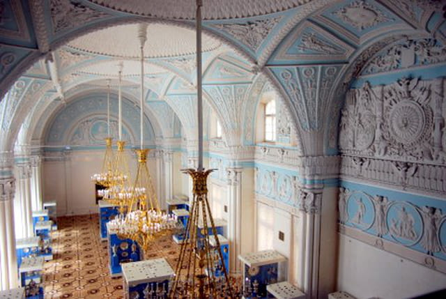 une salle du Musée de l'Ermitage