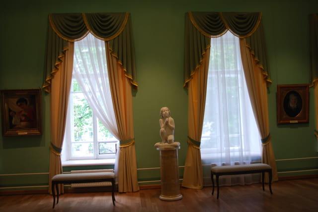 une salon du Palais du Gouverneur de Yaroslavl
