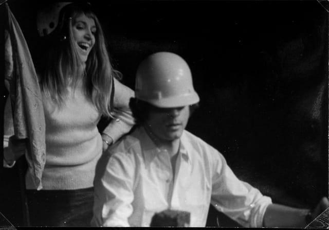 Une scène de la pièce de Georges Wolinski