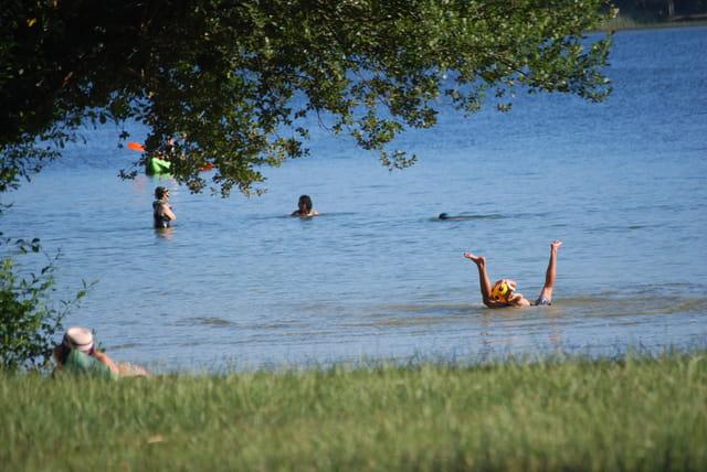 vacances au bord du lac