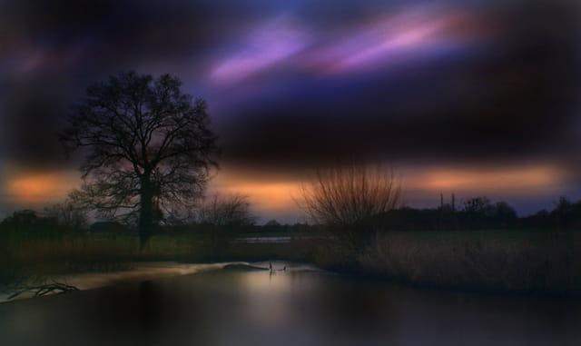 Vallée de la Vilaine, aurore.....