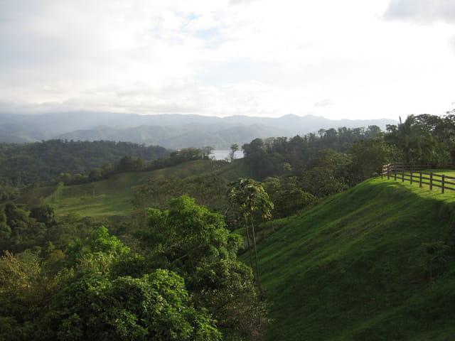 Vallée volcan arenal